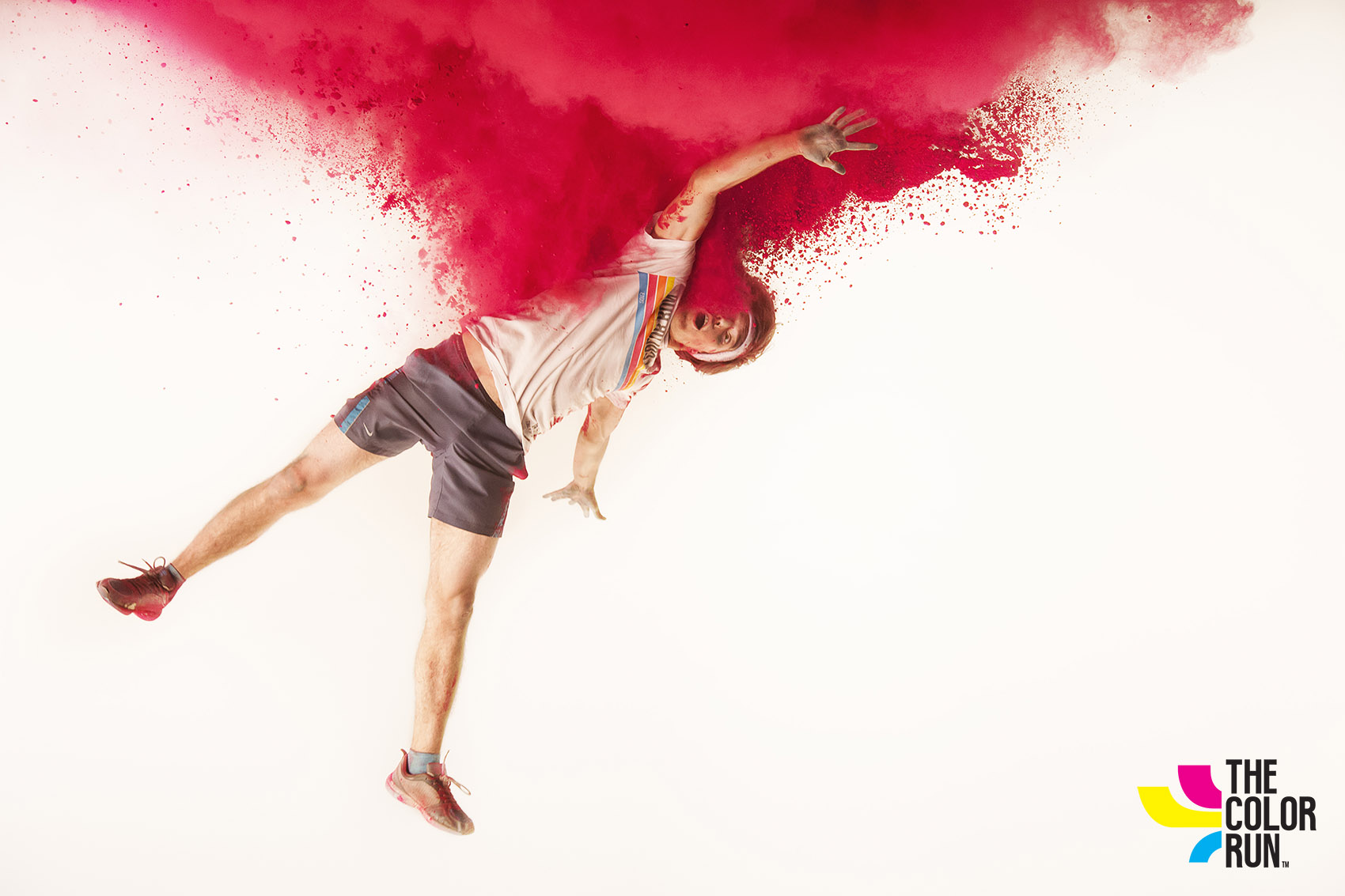 Color run red
